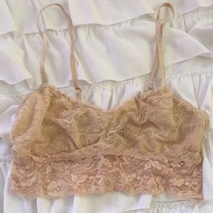 Urban Outfitters nude lace bralette